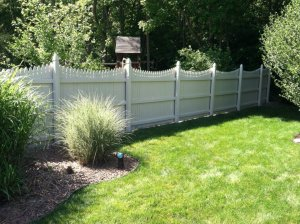 Certa Fence Staining Painting After