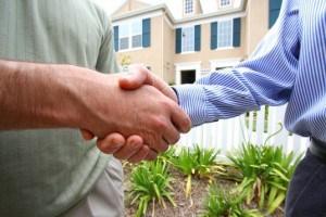 Painting Contractors Handshake