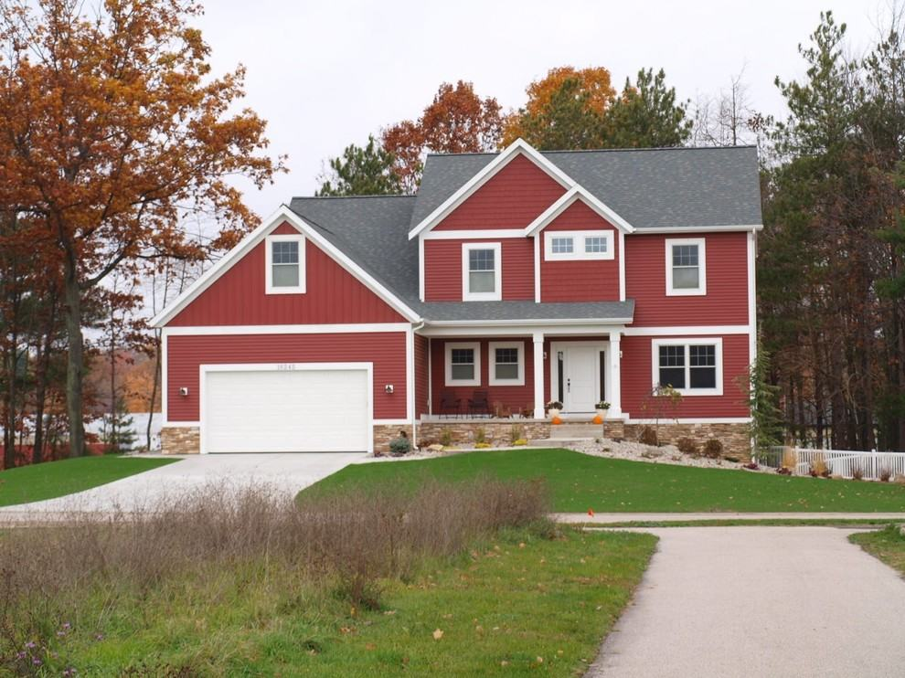 Flora brothers 3 tips when painting your home s exterior for Red barn houses
