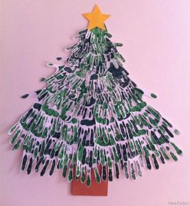 Christmas Tree Handprints