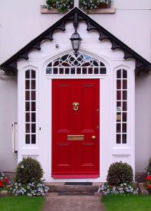 Red home door (Irland)