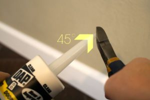interior caulking