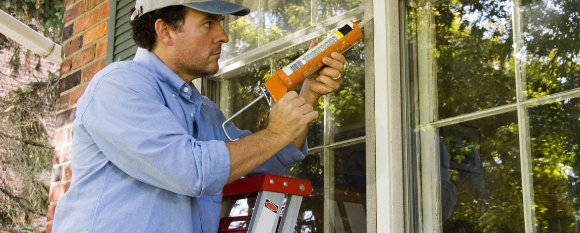 Caulking Home's Exterior