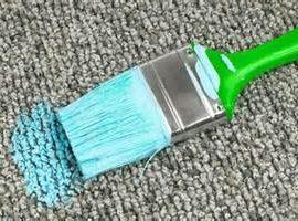 Clean Paint Off Carpet