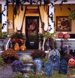 Halloween Garden Decorations