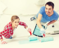 Homeowners Painting Interior