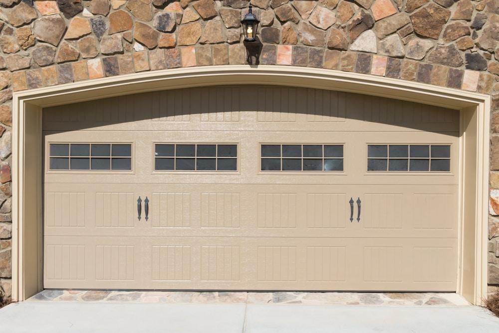 Steps to repainting a garage door good preparation great for Garage door finishes