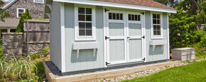 Six Things to Know Before Repainting a Shed